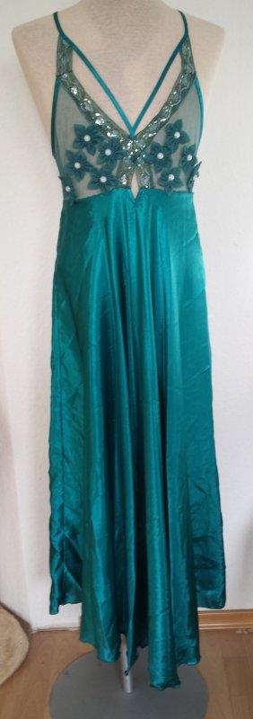 Peignoir turquoise
