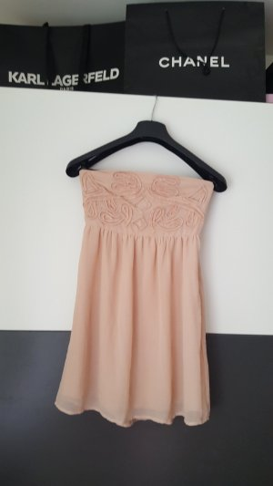 Clockhouse Off-The-Shoulder Dress apricot