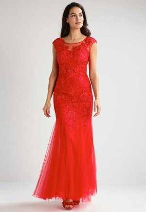traumhaftes rotes Abendkleid
