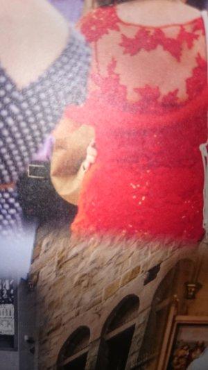 traumhaftes rotes Abendkleid/Schuetzenfestkleid