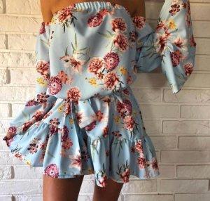 Traumhaftes schulterfreies Kleid, Bohoo