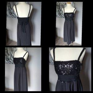 Traumhaftes schwarzes Abendkleid von Esprit Gr 38 Pailetten Pailettenkleid