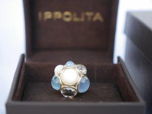 Traumhaftes Set Ohrringe und Ring von IPPOLITA aus Silber 925