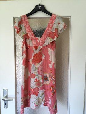 Traumhaftes Sommer Seiden Kleid