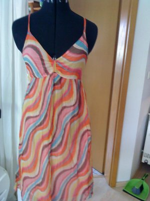 Babydoll Dress multicolored polyester