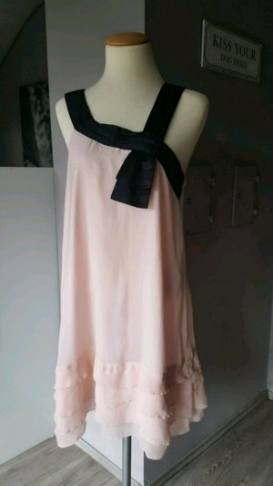 Traumhaftes zartes Abendkleid in rosa von Vero Moda - Gr M  Puderton