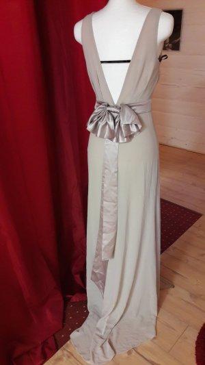 Asos Petite Robe chiffon rose chair-chameau tissu mixte
