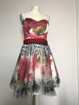 Rinascimento Bustier Dress multicolored