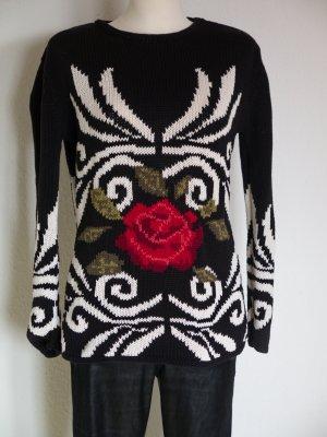 Traumpulli schöner schwarzer Pullover von Exactly Gr. L