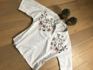 Zara Blouse-chemisier multicolore coton