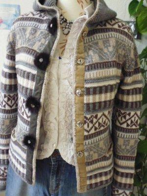 Zaubermasche Cardigan tricotés multicolore tissu mixte