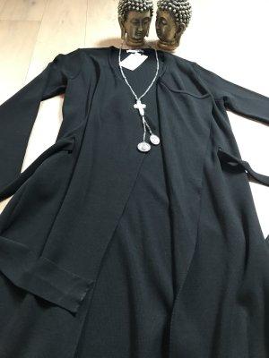 Traumschöner Wickel Mantel von Mango, neu, schwarz, Gr.M ❤