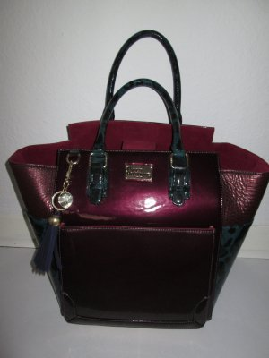 TRAUMTASCHE von Paul's Boutique * Shopper * Tote * Lack * Animalprint * von Topshop