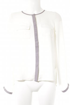Travel Couture by Heine Langarm-Bluse creme-blasslila Business-Look
