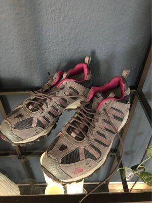 The North Face Desert Boots dark grey-raspberry-red