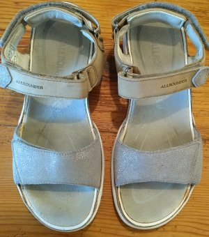 Mephisto Outdoor Sandals silver-colored-light grey leather