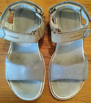 Mephisto Sandale d'extérieur argenté-gris clair cuir