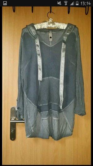Tredy 36 Shirt mit Kapuze graublau