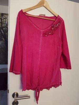 Tredy Blusenshirt, pink, 3/4 Arm