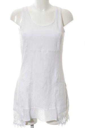 Tredy Jerseykleid weiß-wollweiß Casual-Look