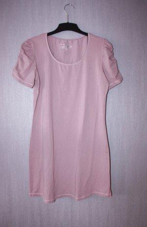 Tredy Jerseyjurk stoffig roze Gemengd weefsel