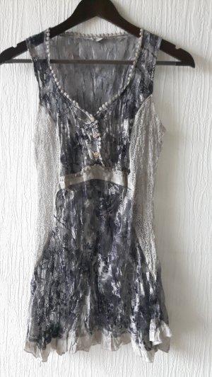 Tredy Kleid Hängerchen transparent Größe 38