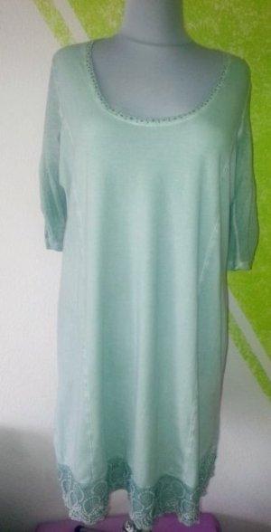 Tredy Kleidchen Tunika  Mint + Steinchen Gr 46 48