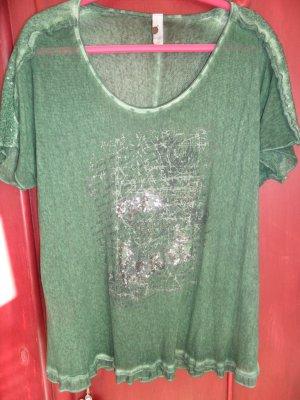 Tredy  Kurzarmshirt, dunkelgrün