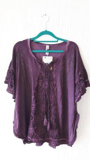Tredy Shirt grijs-lila