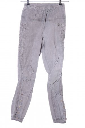 Tredy Jeans stretch gris clair style décontracté