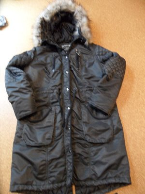 Tredy Wintermantel schwarz, Größe 44