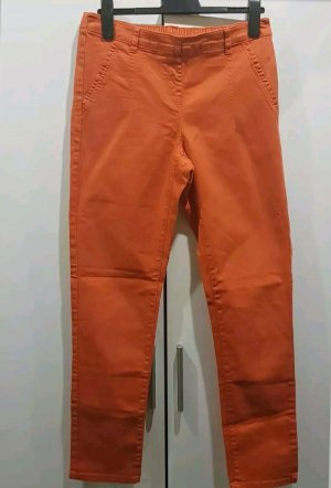Yessica Treggings naranja neón-naranja oscuro Algodón