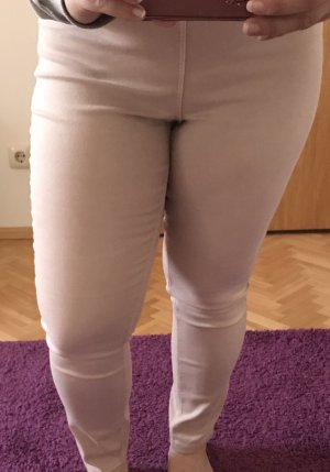 H&M Treggings color rosa dorado