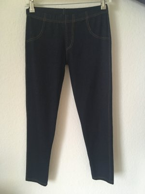 Treggings dark blue