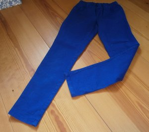 Tregging bleu tissu mixte