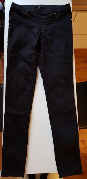 H&M Tregging noir coton