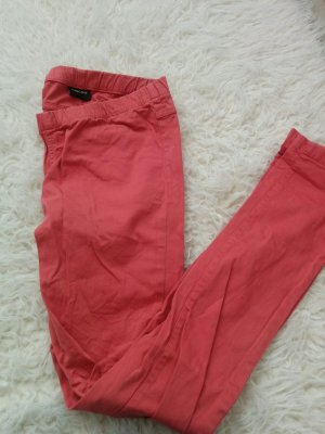 Pieces Treggings salmon-bright red
