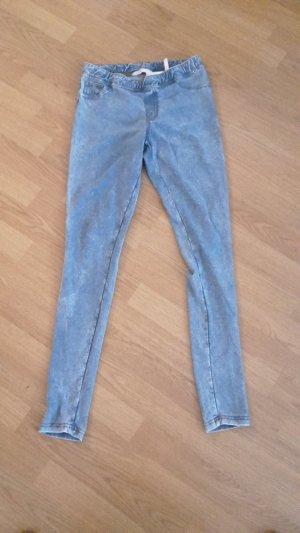 Treggins Leggins Jeggins Jeans Hose Röhre Skinny