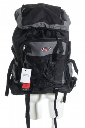 Trekking Backpack black-grey athletic style