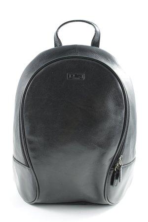Trekking-Rucksack schwarz schlichter Stil