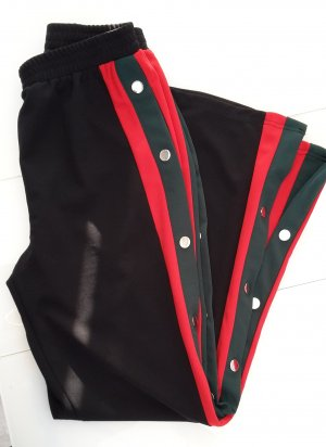 Trekkingpants Hose mit Streifen und Druckknöpfen neu nur noch bis 10. Oktober