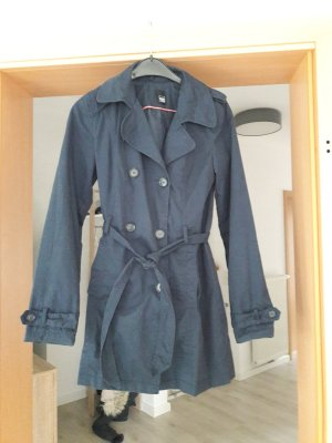 Pimkie Long Jacket dark blue