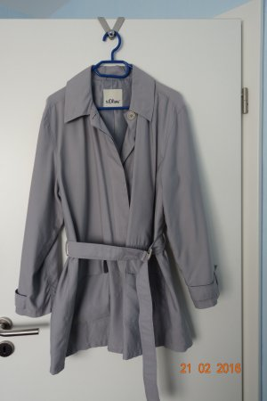 Trench Coat grau s. Oliver