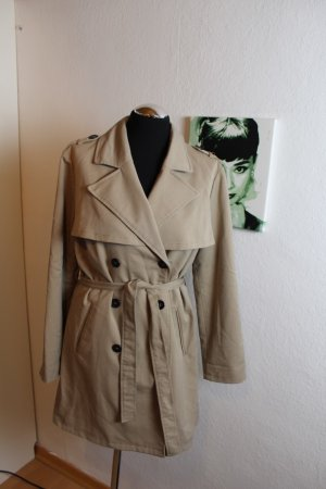 H&M Divided Trench Coat forest green-olive green