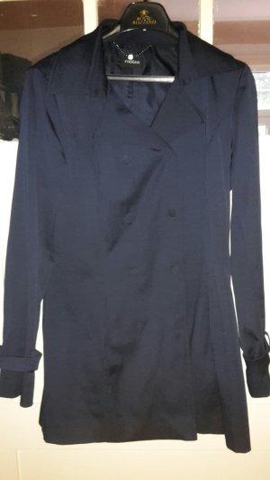 Trench Coat Mantel Größe 38, marine blau