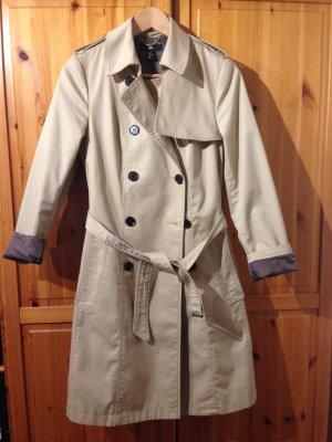 Trench-Coat Mantel H&M beige