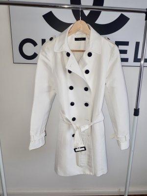 Trench-Coat von Hallhuber Gr. 42 weiß