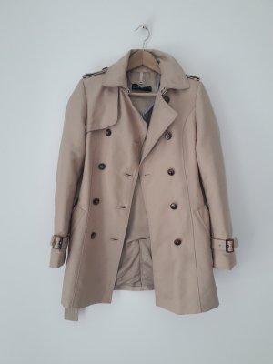 Trench Coat Zara Woman XS beige im Burberry-Stil