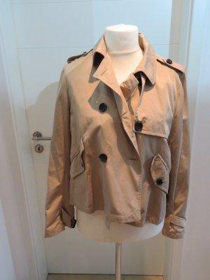 Trench Jacke beige von Zara xl