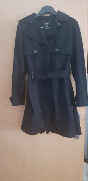 H&M Trench Coat black